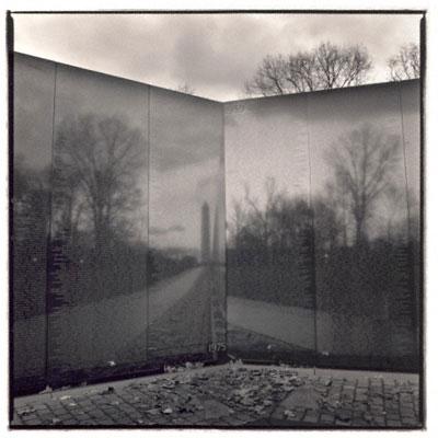 Vietnam Memorial, photo by Hiroshi Watanabe