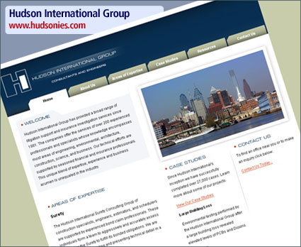 Hudson International Group — Website Relaunch