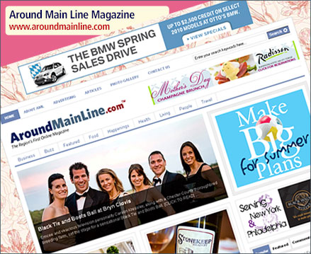 AroundMainLine.com Website Launch