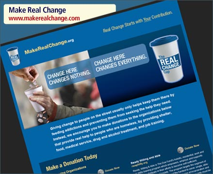 MakeRealChange.org - Real Change Starts with Your Contribution