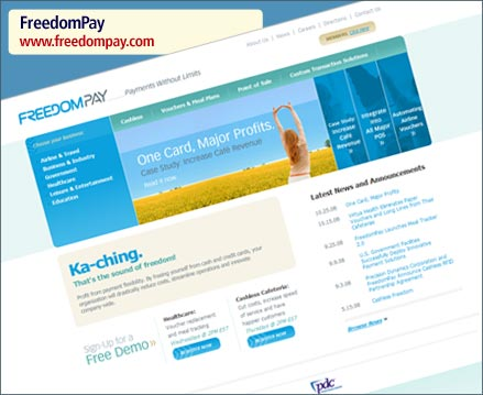 FreedomPay Website Launch