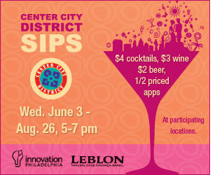 Center City SIPS Banner Ad Campaign 2009