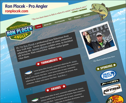 Ron Plocek Website Launch