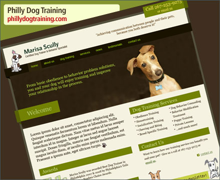 Philly Dog Training Website Launch