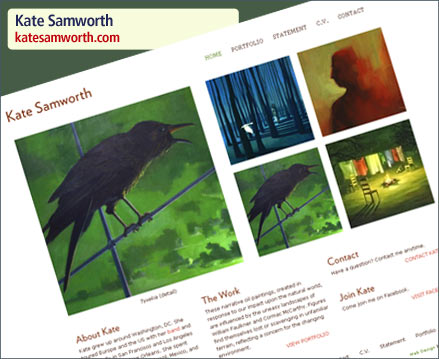 Kate Samworth Website Launch