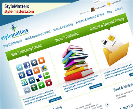 StyleMatters Web Design