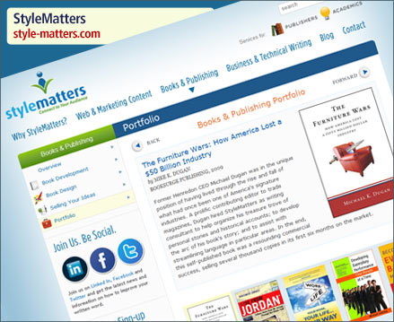 StyleMatters Website Launch