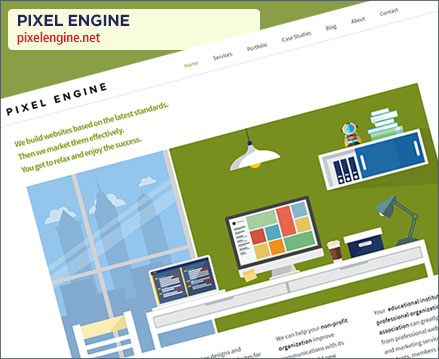 Pixel Engine Website Relaunch
