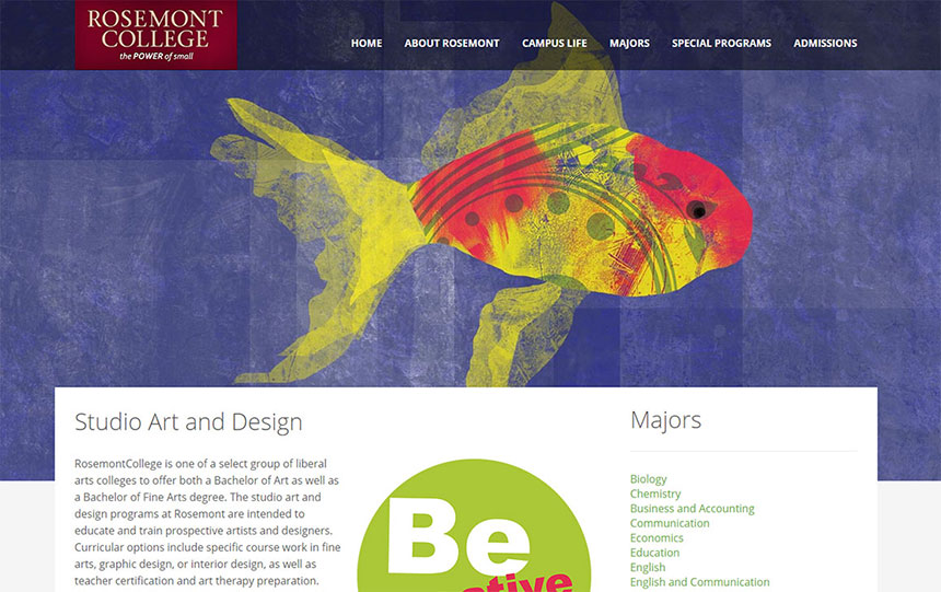 Rosemont College – Be The Big Fish