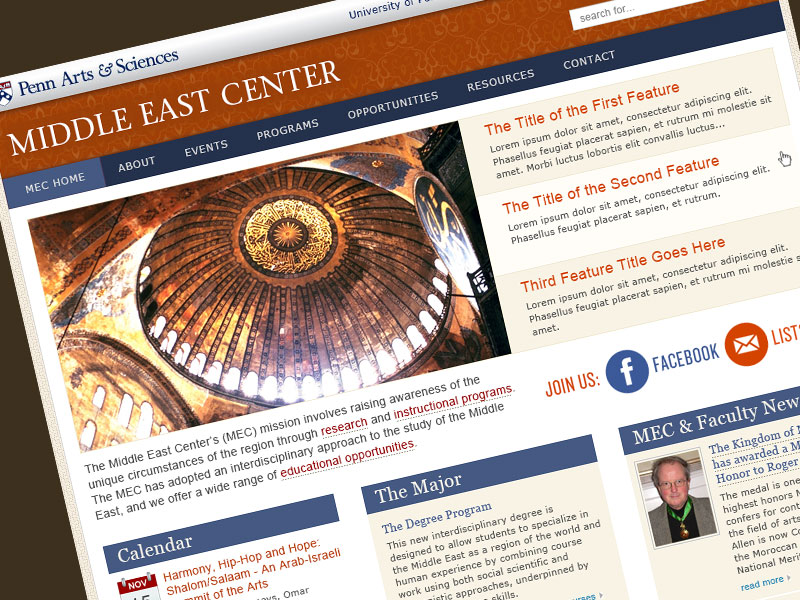 University of Pennsylvania's Middle East Center
