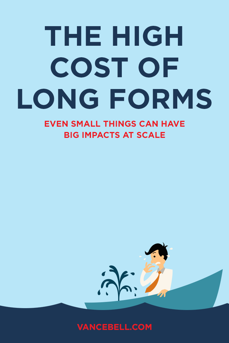 How Long Online Forms Lose Leads