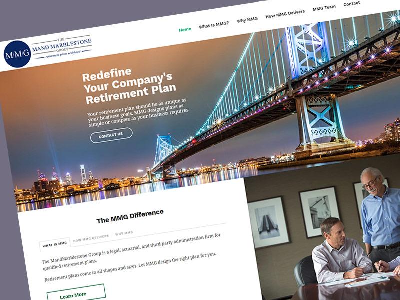 Mand Marblestone Website Design