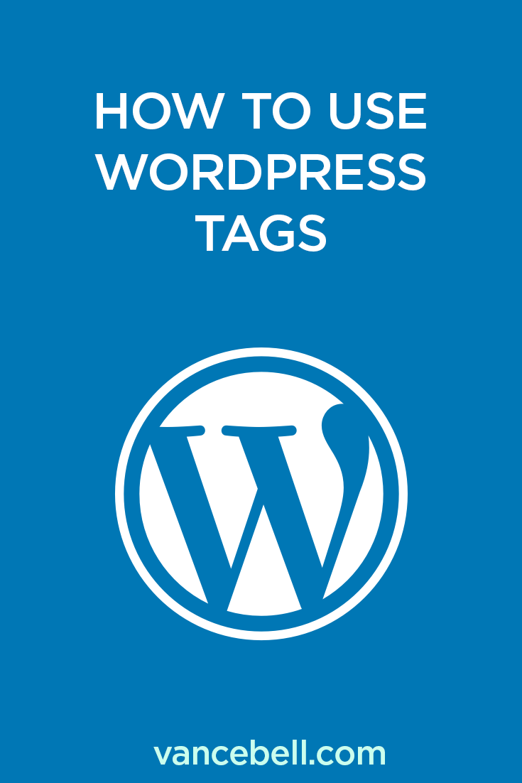 How to Use WordPress Tags